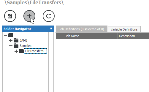 Using the File Transfer Execution Method – JAMS Scheduler